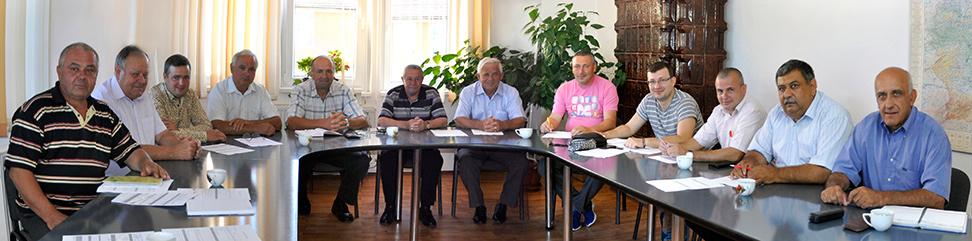 Ședința Consiliului Local Romos