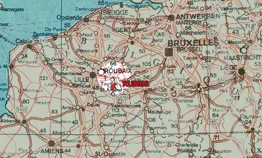 Harta belgia Mare