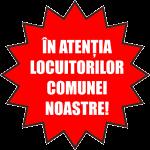 Atenționare locuitorii comunei Romos